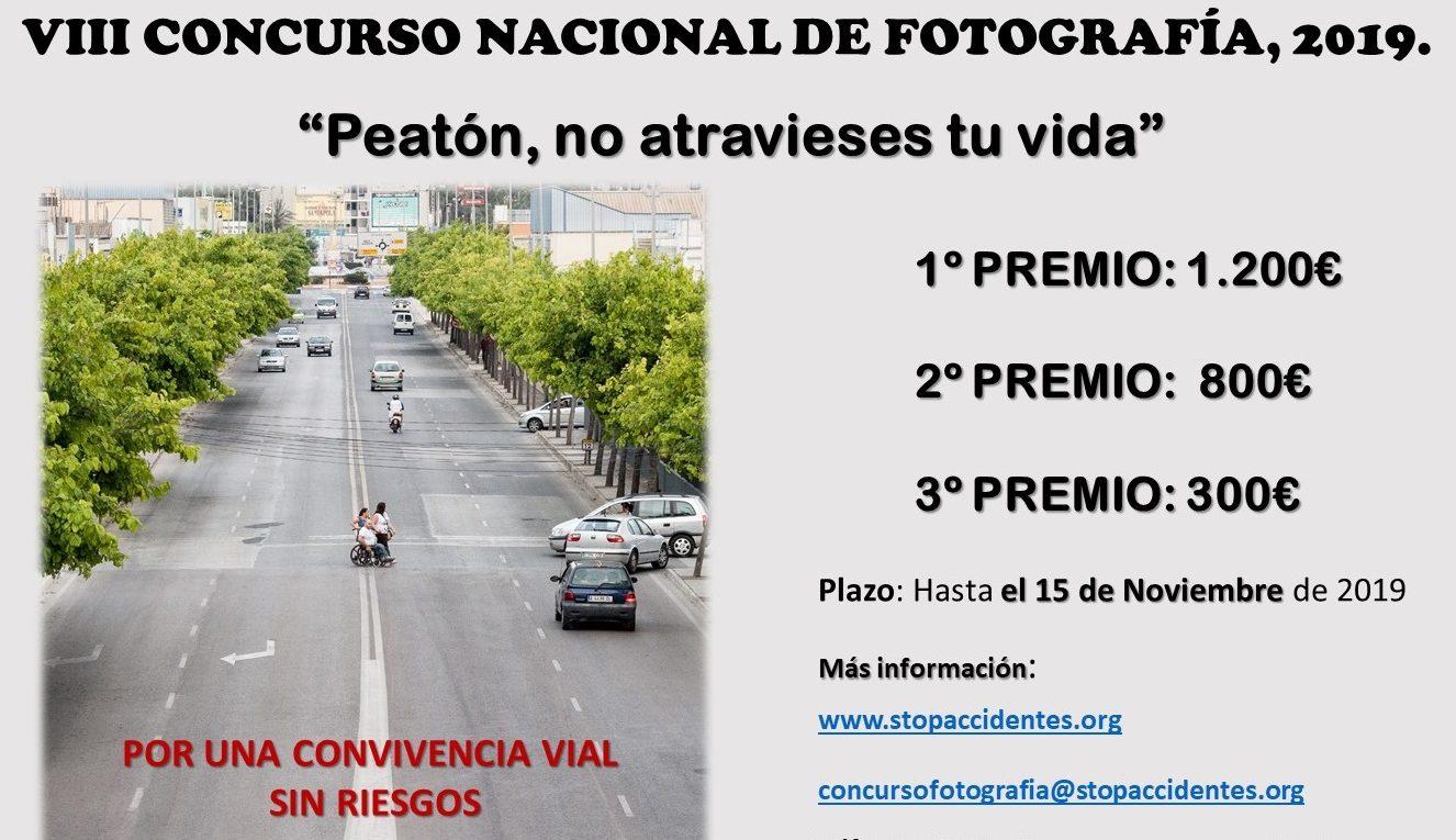 """Concurso Nacional de Fotografía """"Peatón, no atravieses tu vida"""""""