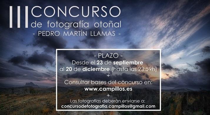 """Concurso de Fotografía Otoñal """"Pedro Martín Llamas"""