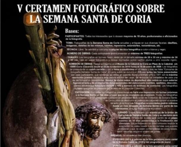Certamen Fotográfico sobre la Semana Santa de Coria