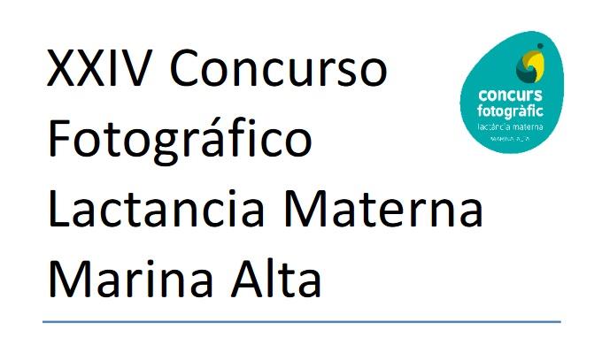 Concurso Fotográfico Lactancia Materna Marina Alta