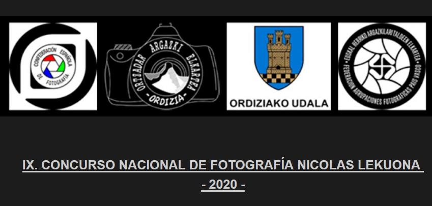 Concurso Nacional de Fotografía Nicolás Lekuona