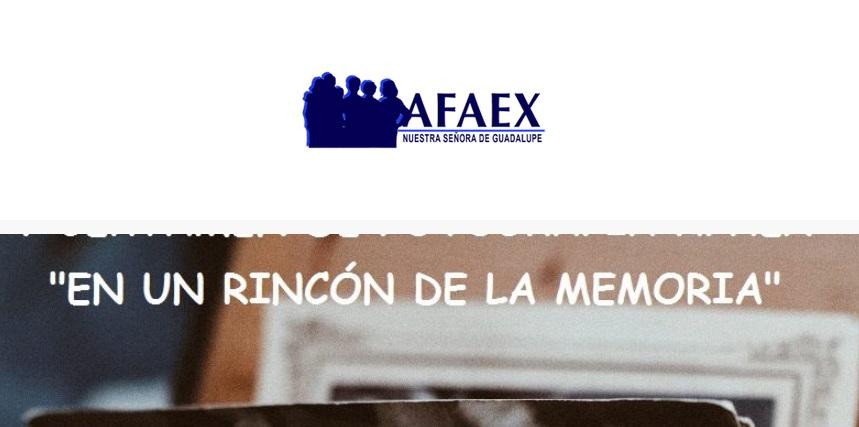 """AFAEX """"En un Rincón de la memoria"""