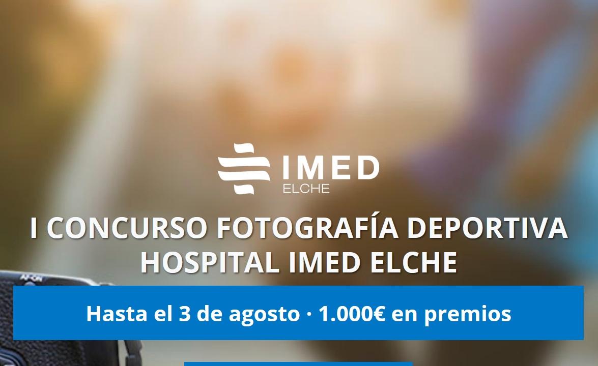 CONCURSO FOTOGRAFÍA DEPORTIVA Hospital IMED ELCHE