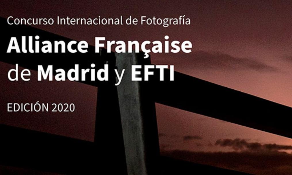 Concurso Internacional de Fotografía Alliance Française de Madrid y EFTI