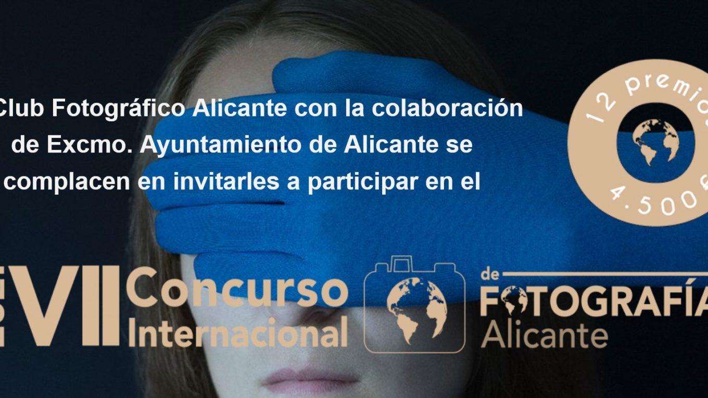 """Concurso Internacional de fotografía """"ALICANTE"""""""