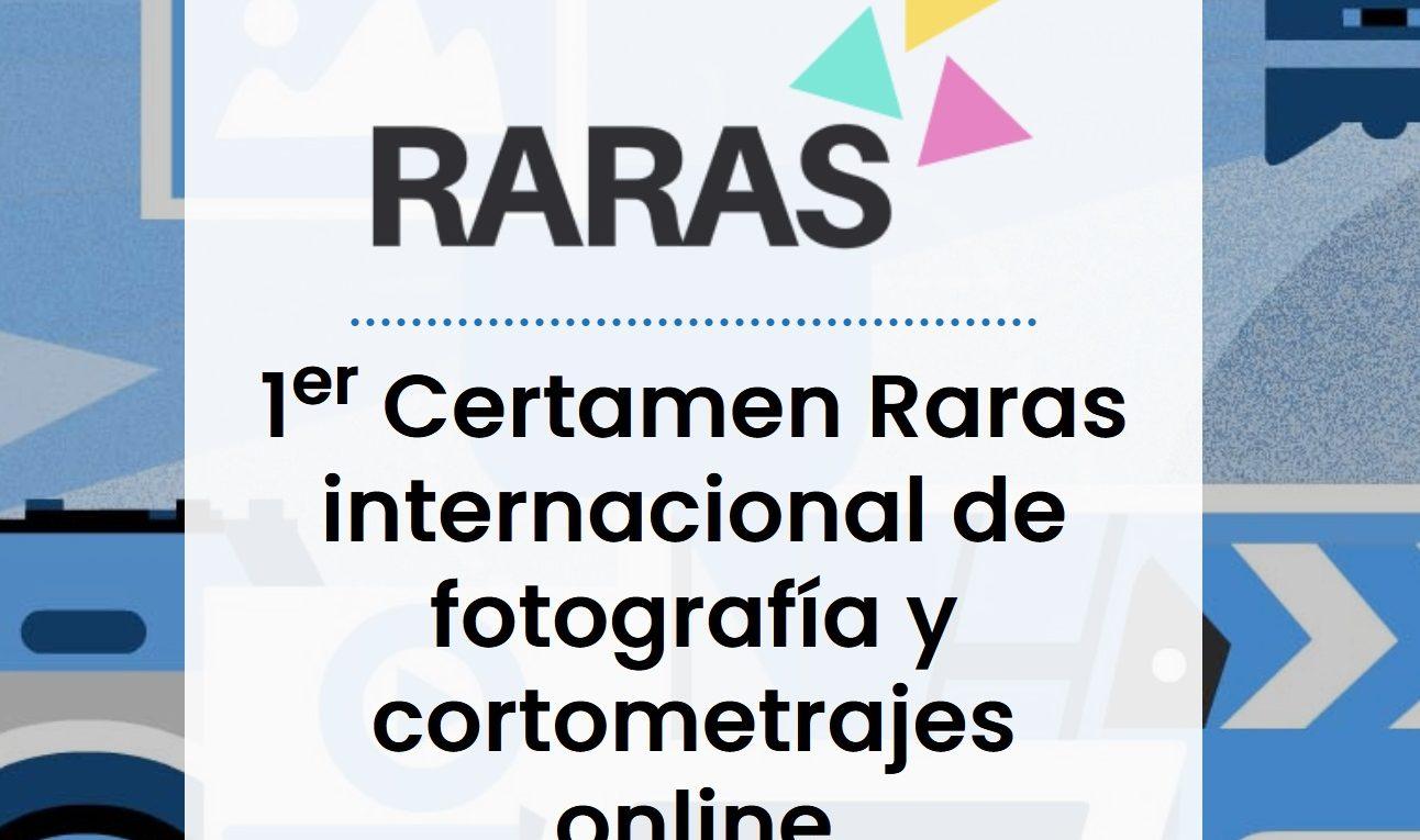 Certamen Raras Internacional De Fotografía y Cortometrajes Online